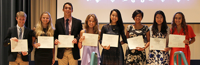 Annual Fall Awards Assembly Celebrates Academic Achievements