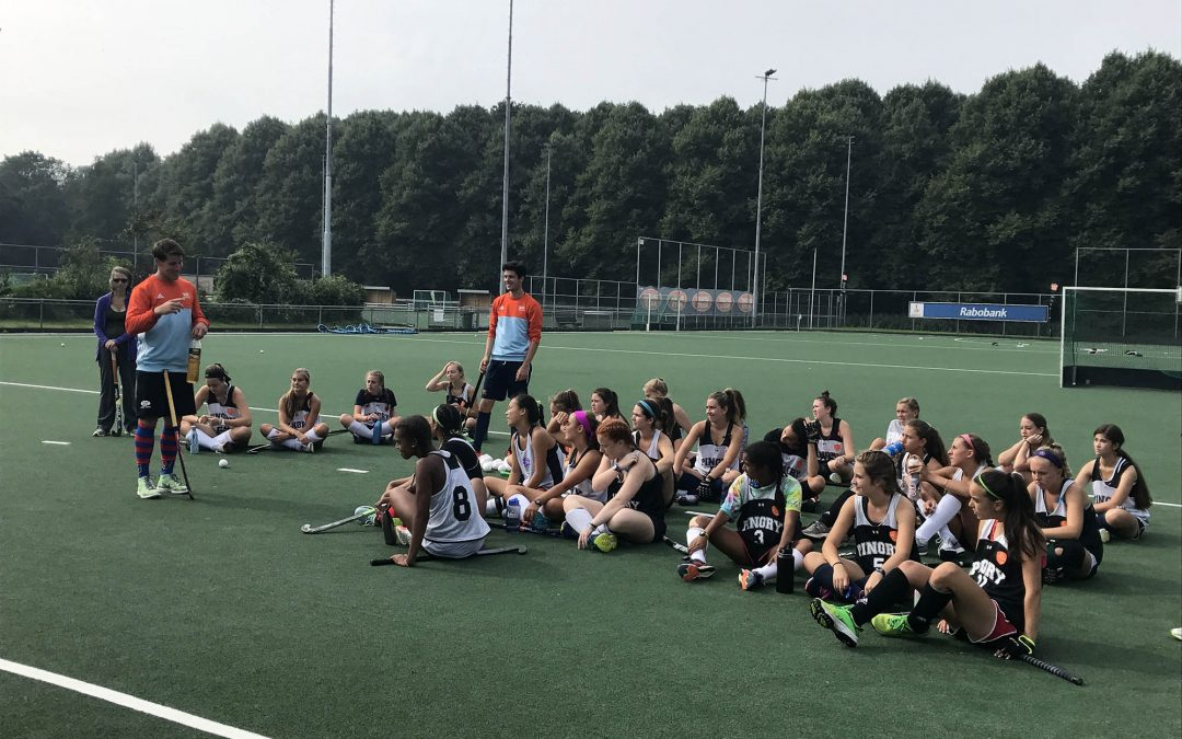 Holiday in Holland with the Field Hockey Team