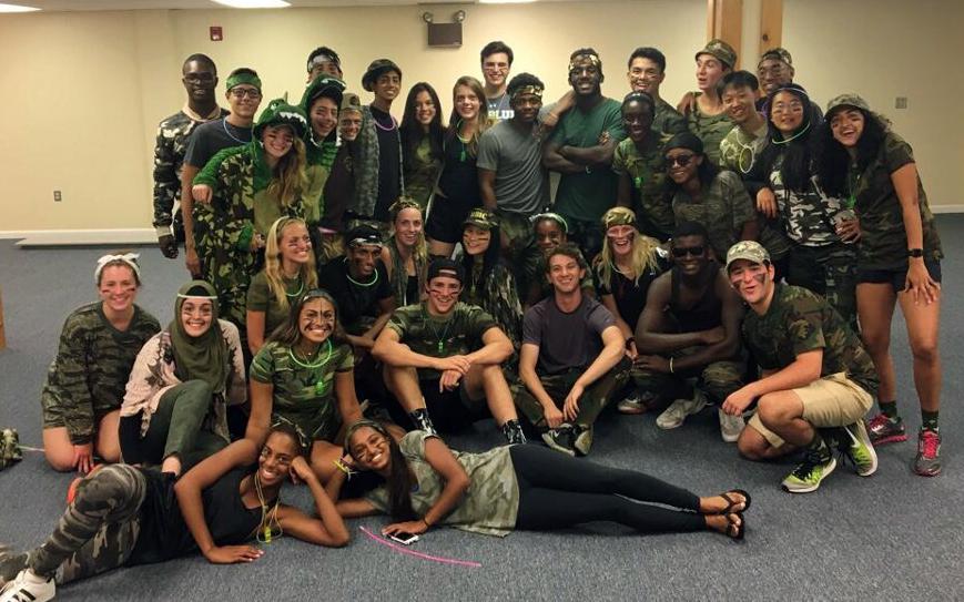 Freshmen Bond with Peer Leaders at Camp Bryn Mawr