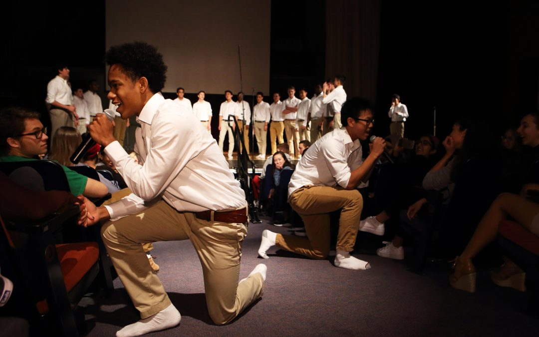 Buttondowns Serenade at Annual Assembly