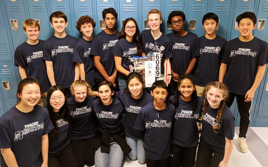 Robotics Team Tackles First Tech Challenge