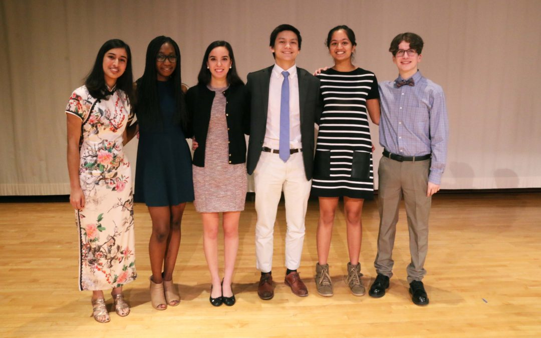 Six Speakers Present at LeBow '53 Oratorical Competition