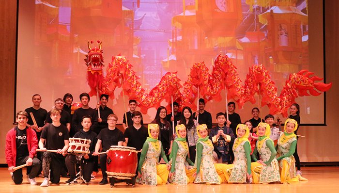 Lunar New Year Assembly Rings in the Year of the Dog