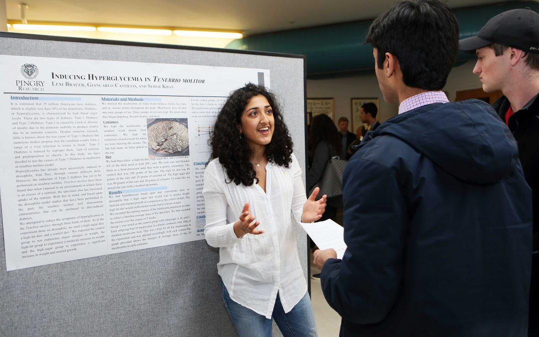 Annual Research Exhibit Showcases Student Research in the Sciences and Humanities