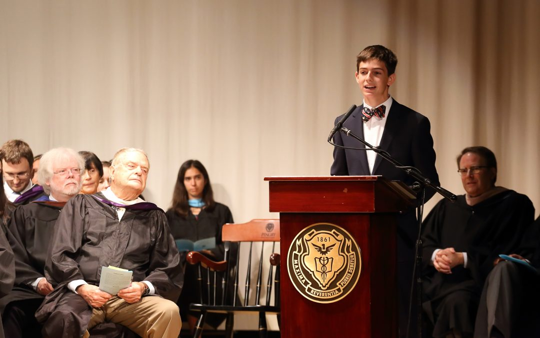 Convocation Emphasizes Community with an Open Mind