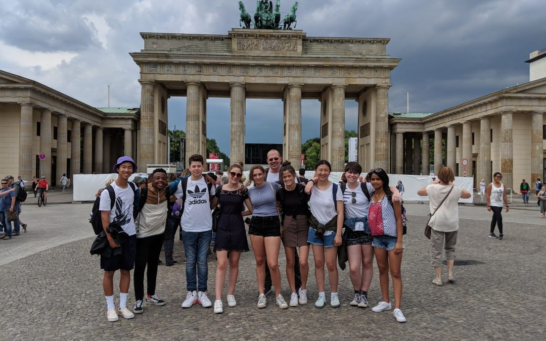 Students Take the Classroom Abroad