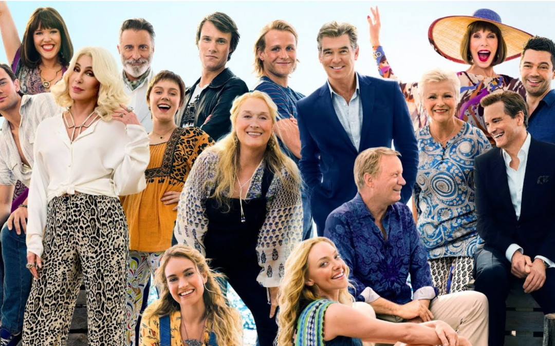 Sing and Dance Along in Your Seats to Mamma Mia 2: Here We Go Again!