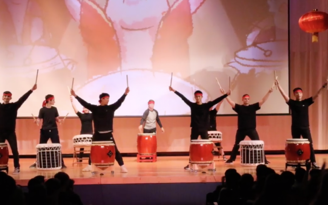 2019 Lunar New Year Assembly Celebrates Year of the Pig with Diverse Set of Performances